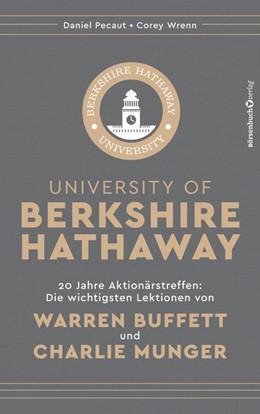 Abbildung von Pecaut / Wrenn   University of Berkshire Hathaway   1. Auflage   2019   beck-shop.de