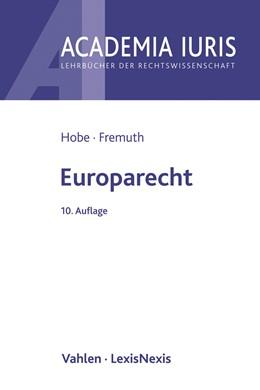 Abbildung von Hobe | Europarecht | 10. Auflage | 2020