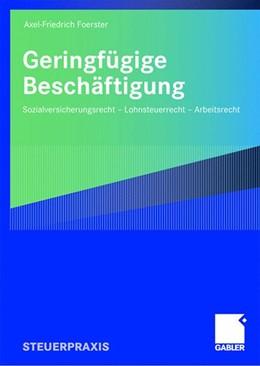 Abbildung von Foerster | Geringfügige Beschäftigung | 2008 | Sozialversicherungsrecht - Loh...
