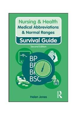 Abbildung von Jones | Medical Abbreviations & Normal Ranges | 2019 | Survival Guide