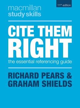 Abbildung von Pears / Shields | Cite Them Right | 11. Auflage | 2019 | beck-shop.de