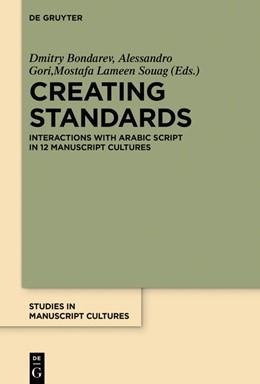 Abbildung von Bondarev / Gori   Creating Standards   1. Auflage   2019   beck-shop.de