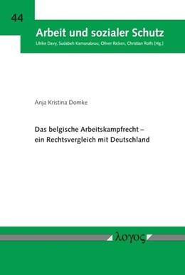 Abbildung von Domke | Das belgische Arbeitskampfrecht -- ein Rechtsvergleich mit Deutschland | 2018 | 44