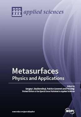 Abbildung von Metasurfaces | 2018 | Physics and Applications