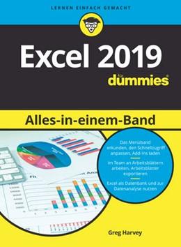 Abbildung von Harvey | Excel 2019 Alles in einem Band für Dummies | 1. Auflage | 2019 | beck-shop.de
