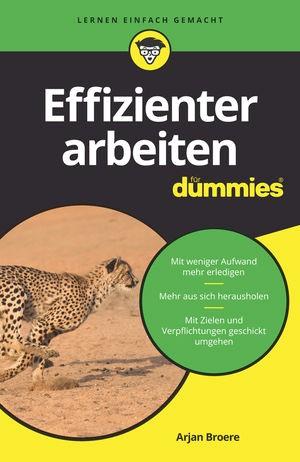 Effizienter arbeiten für Dummies   Broere, 2019   Buch (Cover)