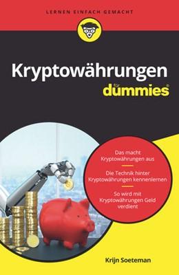 Abbildung von Soeteman | Kryptowährungen für Dummies | 2019