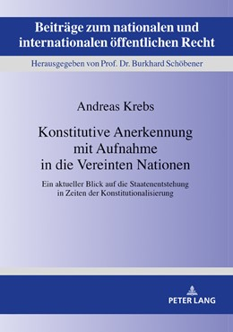 Abbildung von Krebs | Konstitutive Anerkennung mit Aufnahme in die Vereinten Nationen | 1. Auflage | 2019 | 26 | beck-shop.de