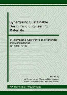 Abbildung von Ismail / Yunos | Synergizing Sustainable Design and Engineering Materials | 1. Auflage | 2018 | Volume 791 | beck-shop.de