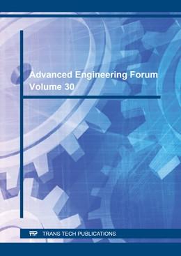 Abbildung von Advanced Engineering Forum Vol. 30 | 2018 | Volume 30