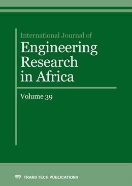 Abbildung von International Journal of Engineering Research in Africa Vol. 39   1. Auflage   2018   Volume 39   beck-shop.de