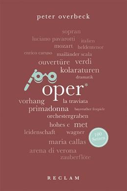 Abbildung von Overbeck | Oper. 100 Seiten | 1. Auflage | 2019 | beck-shop.de