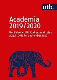 Abbildung von Academia 2019/2020 - Der Kalender für Studium und Lehre   2019