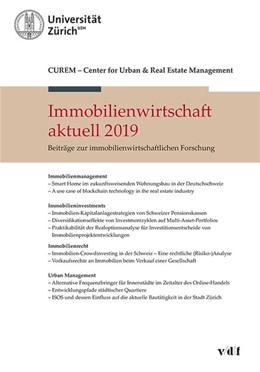Abbildung von Immobilienwirtschaft aktuell 2019 | 1. Auflage | 2019 | beck-shop.de