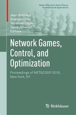 Abbildung von Walrand / Zhu | Network Games, Control, and Optimization | 1. Auflage | 2019 | beck-shop.de
