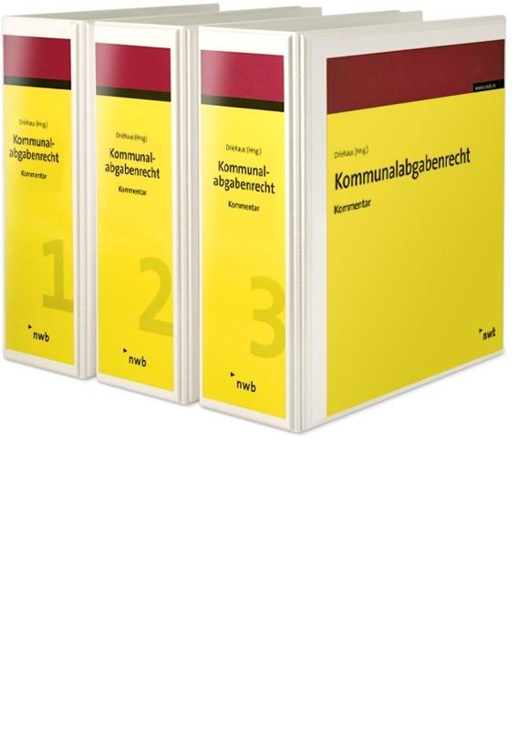 Abbildung von Driehaus | Kommunalabgabenrecht | Loseblattwerk mit 60. Aktualisierung | 2019