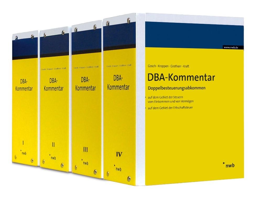 DBA-Kommentar mit 12 Monaten Mindestbezug | Gosch / Kroppen / Grotherr / Kraft | Online-Nutzung inklusive. Nur Festbezug möglich, da POD-Titel., 2018 | Buch (Cover)