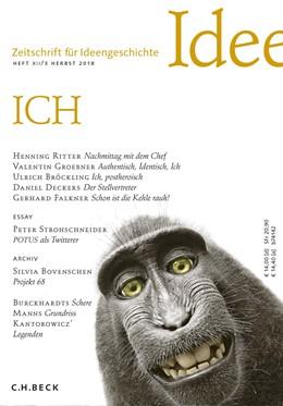 Abbildung von Raulff / Schlak | Zeitschrift für Ideengeschichte Heft XII/3 Herbst 2018 | 2018 | ICH