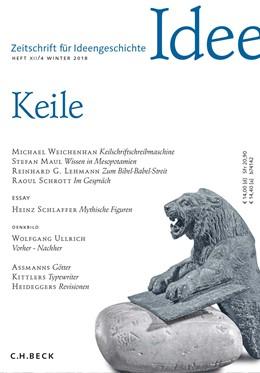 Abbildung von Hilgert / Mulsow | Zeitschrift für Ideengeschichte Heft XII/4 Winter 2018 | 1. Auflage | 2018 | beck-shop.de