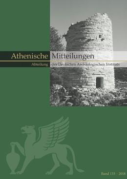 Abbildung von Sporn / Senff | Mitteilungen des Deutschen Archäologischen Instituts, Athenische Abteilung | 1. Auflage | 2019 | beck-shop.de