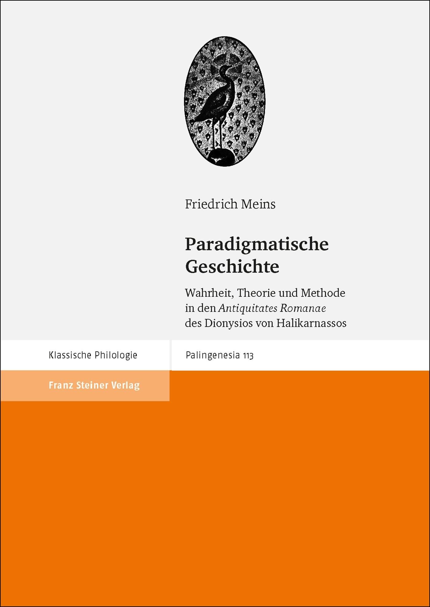 Abbildung von Meins | Paradigmatische Geschichte | 2018