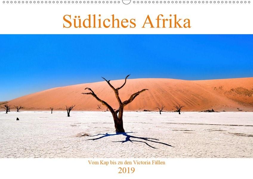 Abbildung von A. Langenkamp | Südliches Afrika - Vom Kap bis zu den Victoria Fällen (Wandkalender 2019 DIN A2 quer) | 1. Edition 2018 | 2018