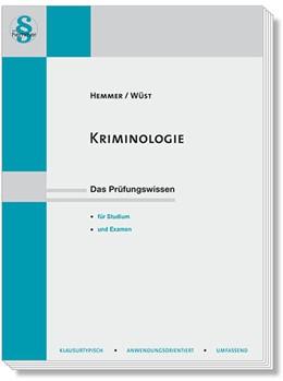 Abbildung von Hemmer / Wüst   Kriminologie   8. Auflage   2018   beck-shop.de
