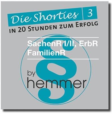 Die Shorties 3 | 9. Auflage, 2018 (Cover)
