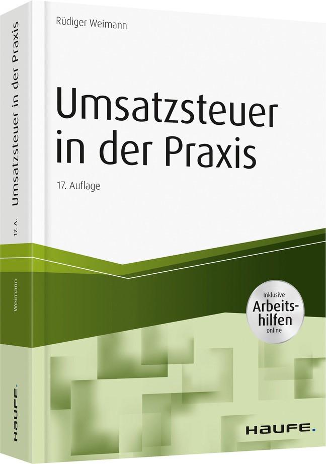 Umsatzsteuer in der Praxis   Weimann   17. Auflage, 2019   Buch (Cover)