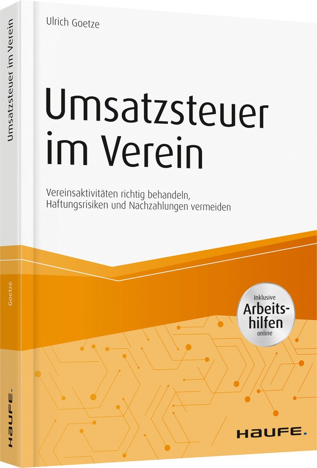 Umsatzsteuer im Verein - inkl. Arbeitshilfen online | Goetze, 2019 | Buch (Cover)