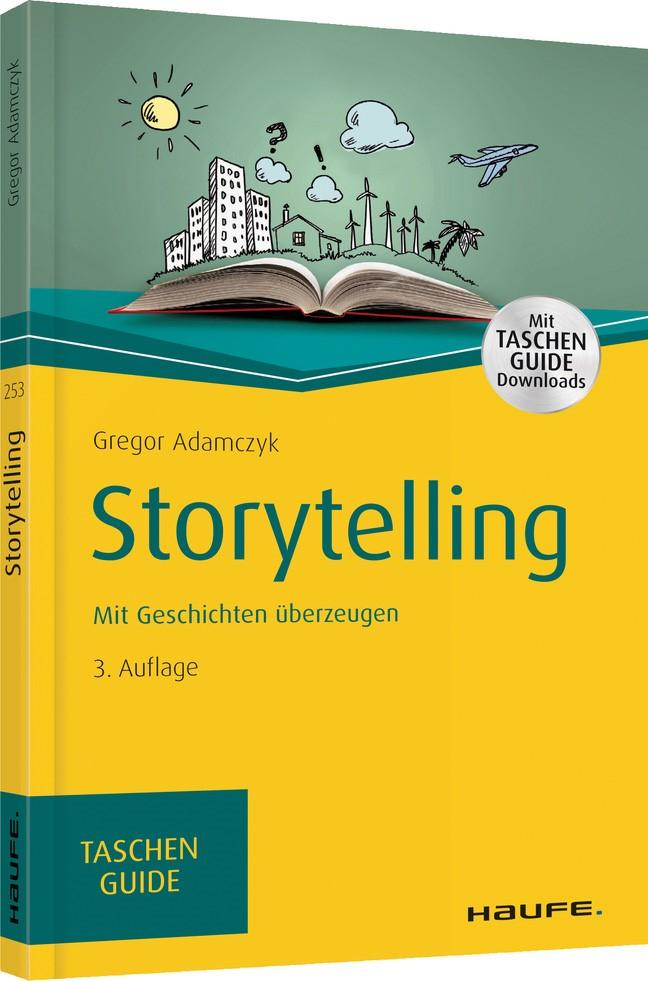Storytelling   Adamczyk   3. Auflage 2019, 2018   Buch (Cover)