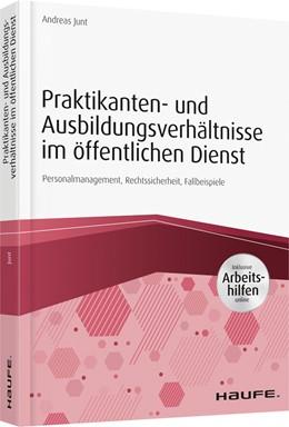 Abbildung von Junt   Praktikanten- und Ausbildungsverhältnisse im öffentlichen Dienst   2019   Personalmarketing, Rechtssiche...
