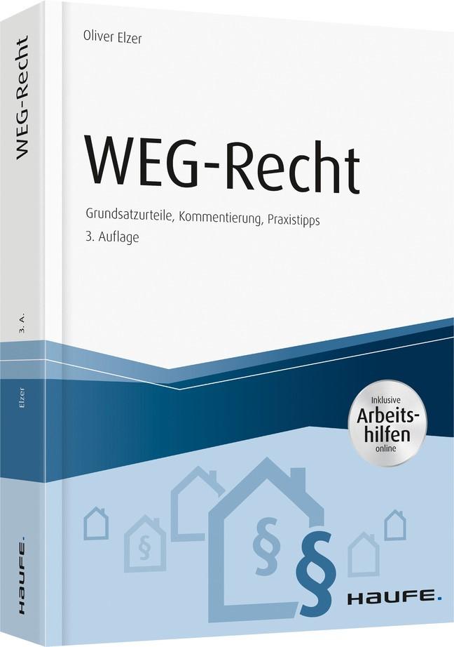 WEG-Recht | Elzer | 3. grundlegend überarbeitete Auflage, 2019 | Buch (Cover)