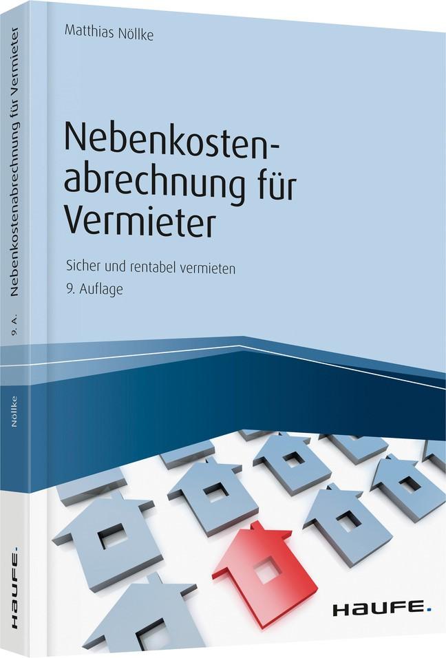 Nebenkostenabrechnung für Vermieter | Nöllke | 9. Auflage 2019, 2019 | Buch (Cover)