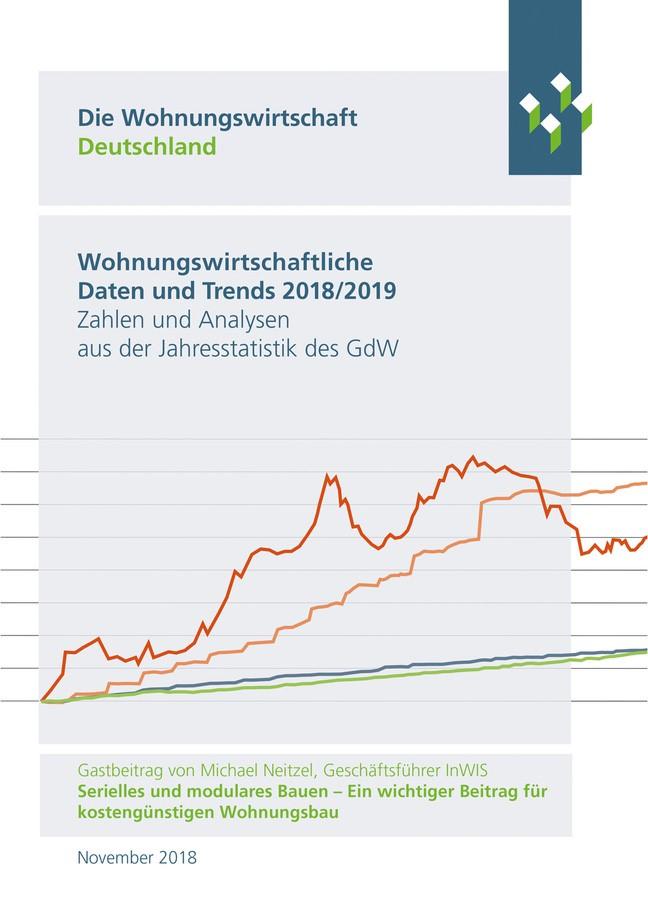 Wohnungswirtschaftliche Daten und Trends 2018/2019 | 10. Auflage 2018, 2018 | Buch (Cover)