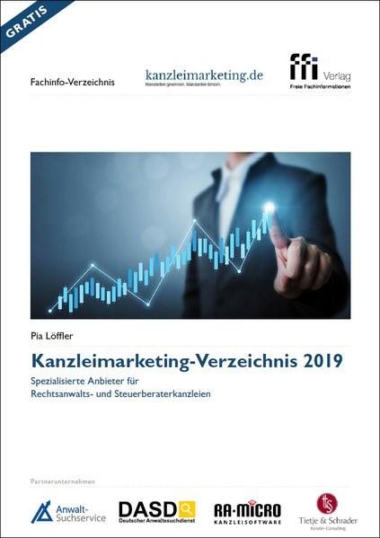 Kanzleimarketing-Verzeichnis 2019 | Löffler (Cover)