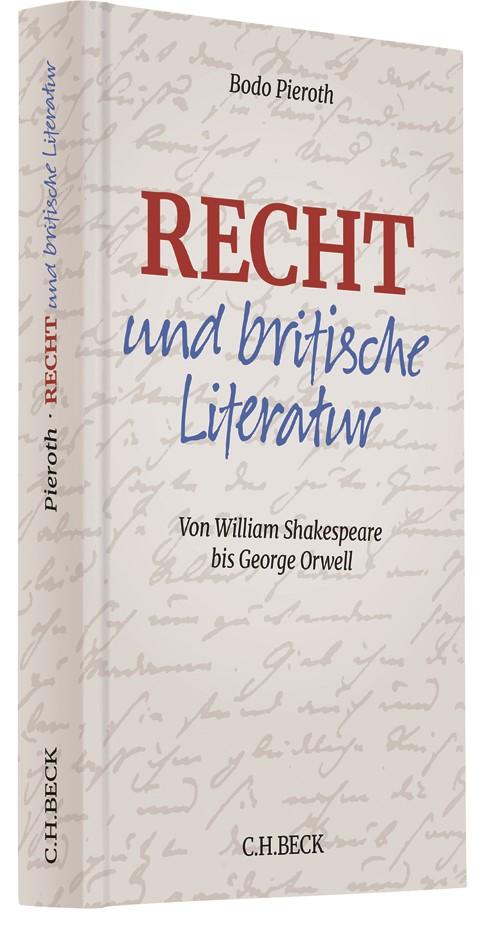 Recht und britische Literatur | Pieroth, 2019 | Buch (Cover)