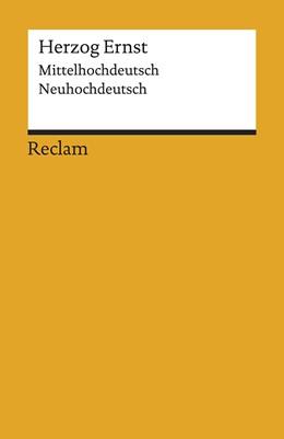 Abbildung von Herweg   Herzog Ernst   2019   Mittelhochdeutsch/Neuhochdeuts...