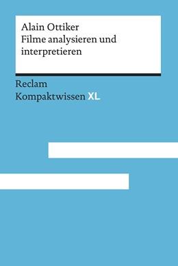 Abbildung von Ottiker   Filme analysieren und interpretieren   1. Auflage   2019   beck-shop.de