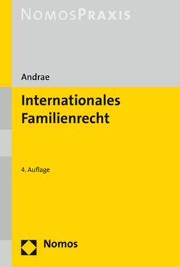 Abbildung von Andrae   Internationales Familienrecht   4. Auflage   2019