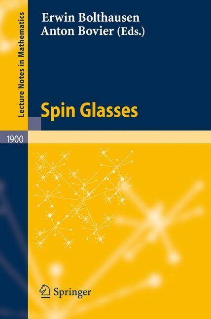 Abbildung von Bolthausen / Bovier | Spin Glasses | 2006