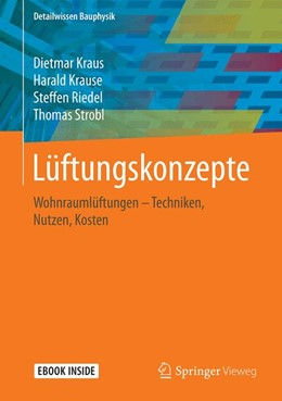 Abbildung von Kraus / Krause   Lüftungskonzepte: Wohnraumlüftungen   1. Auflage   2023   beck-shop.de