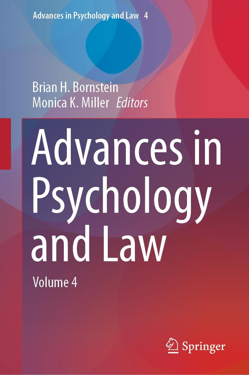 Advances in Psychology and Law | Bornstein / Miller | 1st ed. 2019, 2018 | Buch (Cover)