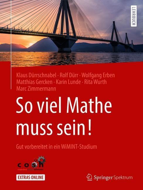So viel Mathe muss sein! | Dürrschnabel / Dürr / Erben, 2019 | Buch (Cover)