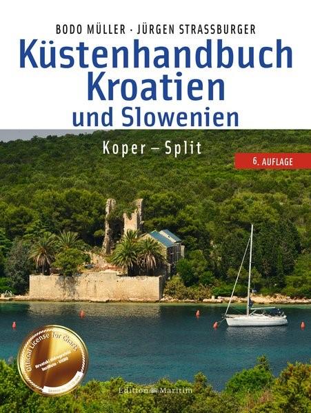 Küstenhandbuch Kroatien und Slowenien | Müller / Straßburger, 2019 | Buch (Cover)