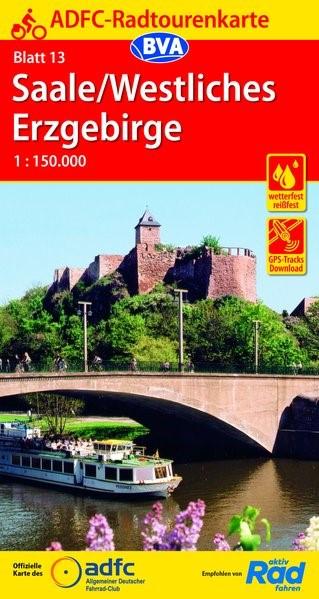 Abbildung von ADFC-Radtourenkarte 13 Saale /Westliches Erzgebirge 1:150.000 | 10. Auflage | 2019