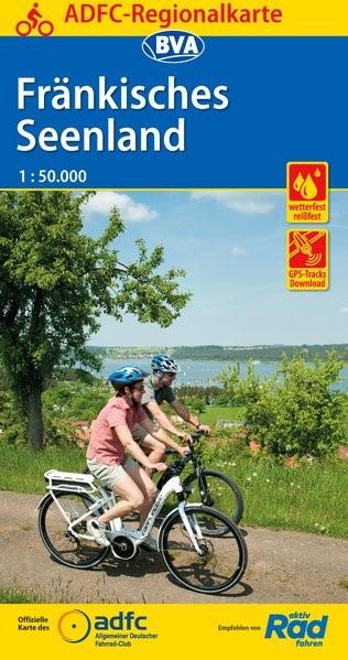 Abbildung von ADFC-Regionalkarte Fränkisches Seenland, 1:50.000, reiß- und wetterfest, GPS-Tracks Download | 1. Auflage | 2019