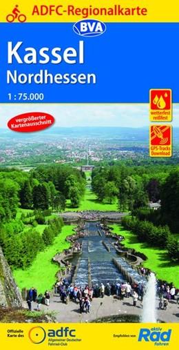 Abbildung von ADFC-Regionalkarte Kassel Nordhessen 1:75.000 | 6. Auflage | 2019