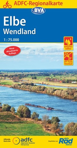 Abbildung von ADFC-Regionalkarte Elbe Wendland 1:75.000 | 3. Auflage | 2019