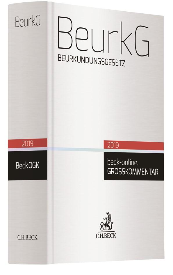 BeurkG, 2019 | Buch (Cover)